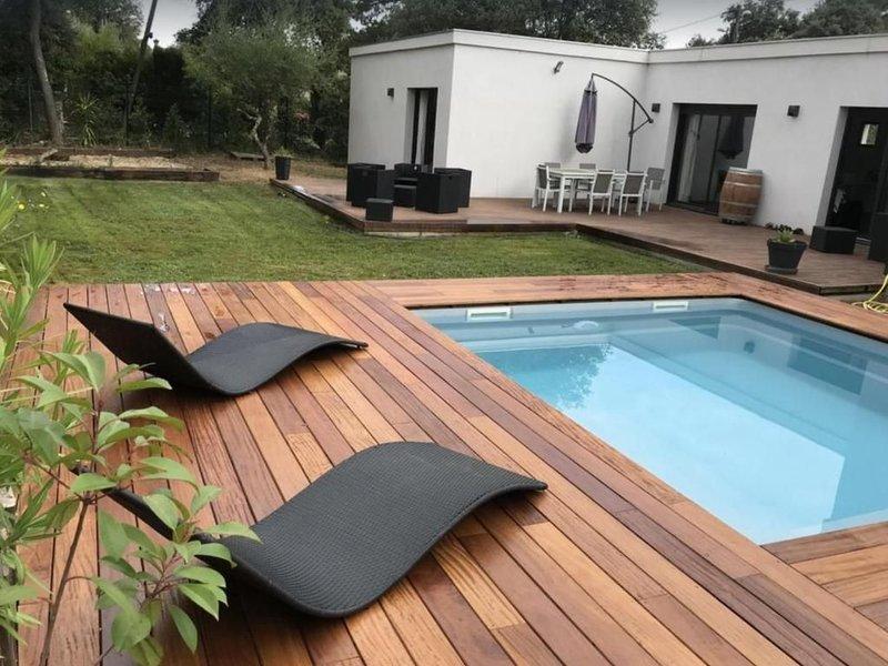Villa contemporaine à deux pas de la rivière, vacation rental in Collias