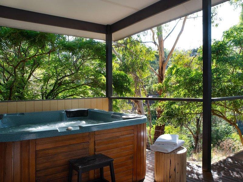Swiss Mt. Villa 2 - Outdoor Jacuzzi!, vacation rental in Hepburn Springs