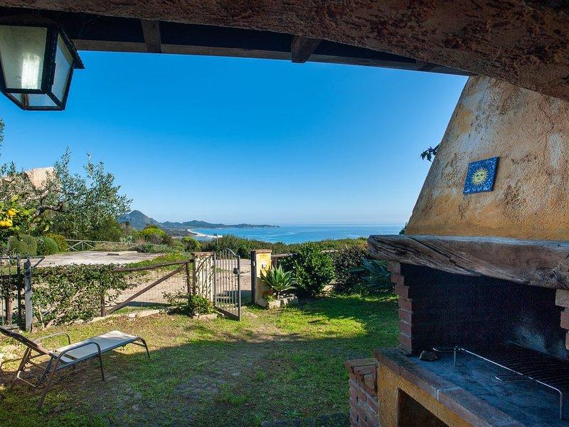 Villa con meravigliosa vista mare – semesterbostad i Costa Rei