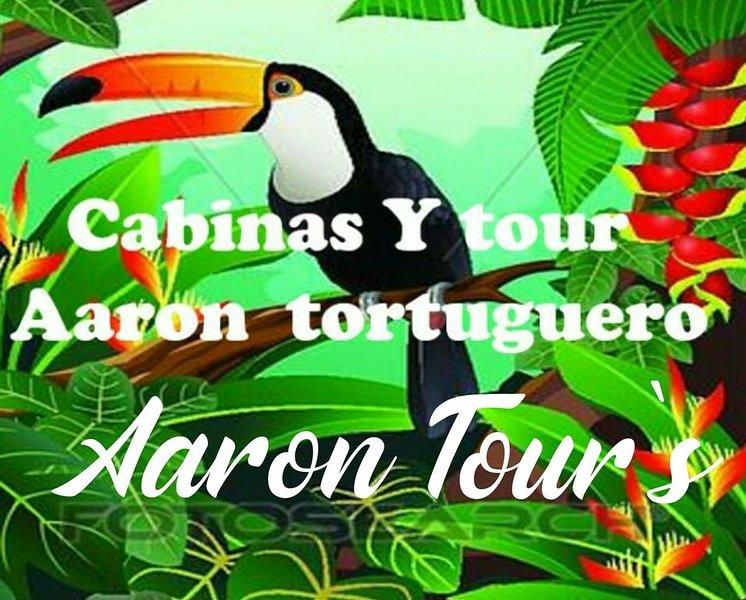 Cabinas y Tours Aaron-Tortuguero, alquiler vacacional en Tortuguero