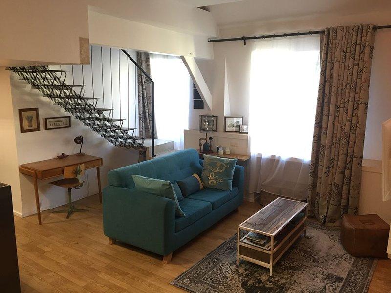 Le loft intemporel au coeur de la ville, alquiler de vacaciones en Auray