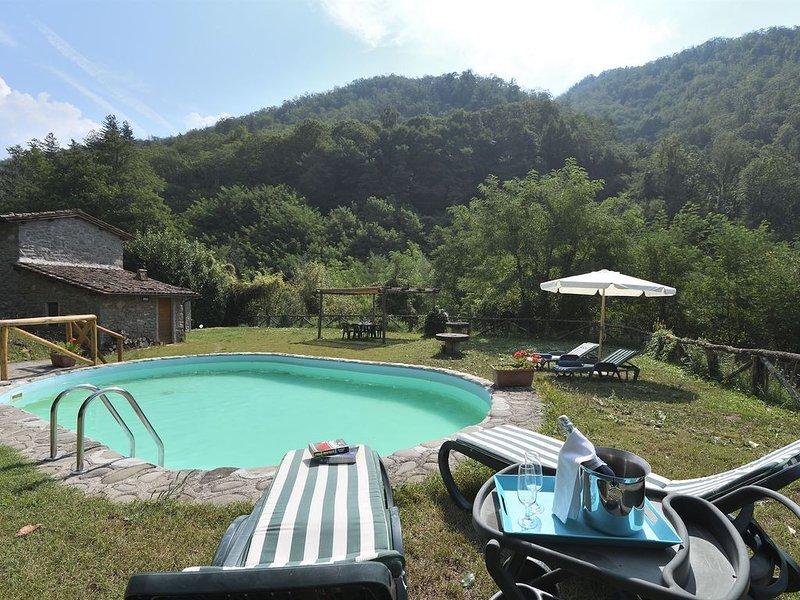 La Casetta, Coreglia Antelminelli, Lucca and Viareggio, holiday rental in Coreglia Antelminelli
