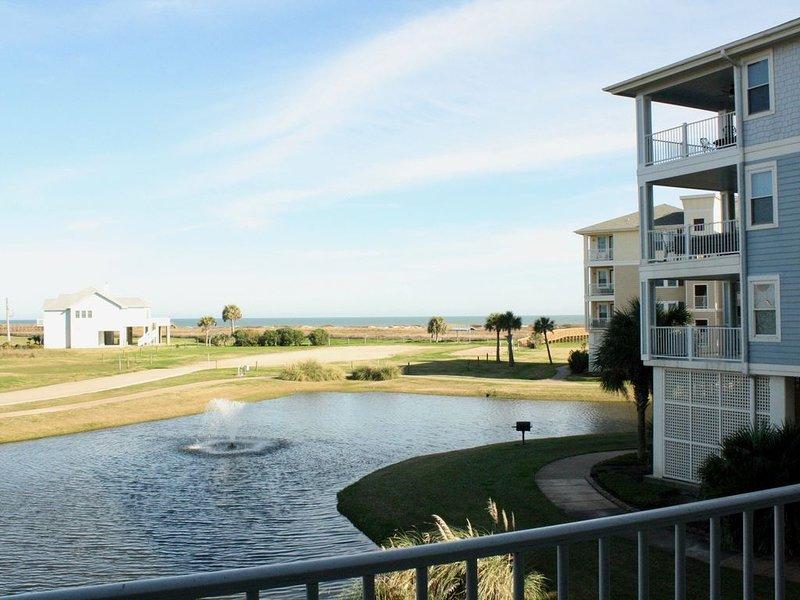 ★Beachside Beauty★ Amazing Views! | Quick Access to Exclusive Beach/Beach Club, vacation rental in Jamaica Beach