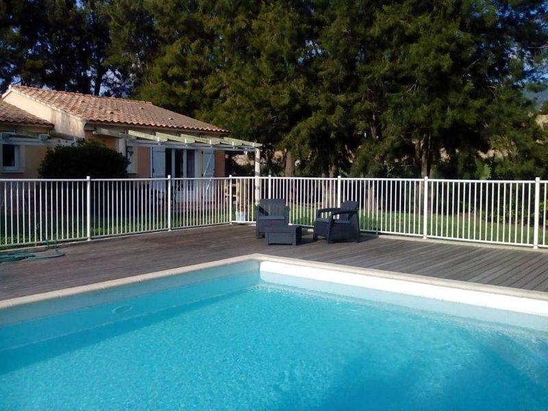 Les 4 vents - VILLA AVEC PISCINE CHAUFFEE PROCHE DE ST FLORENT, holiday rental in Olmeta di Capocorso