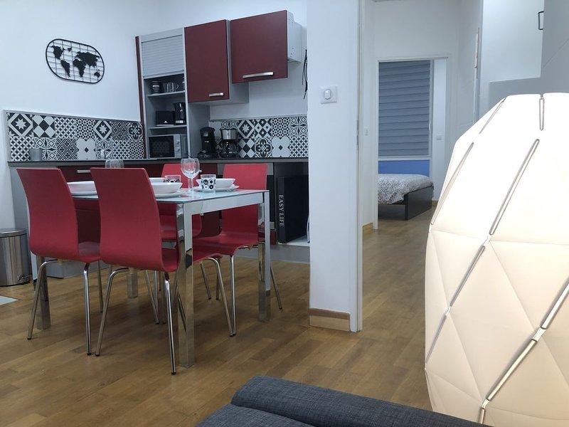 Appartement tout confort en centre ville, holiday rental in Chocques