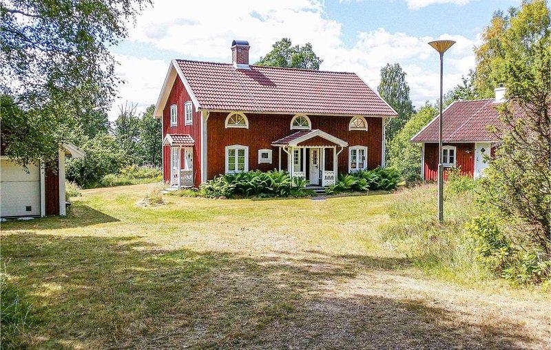 4 Zimmer Unterkunft in Lammhult, holiday rental in Lammhult