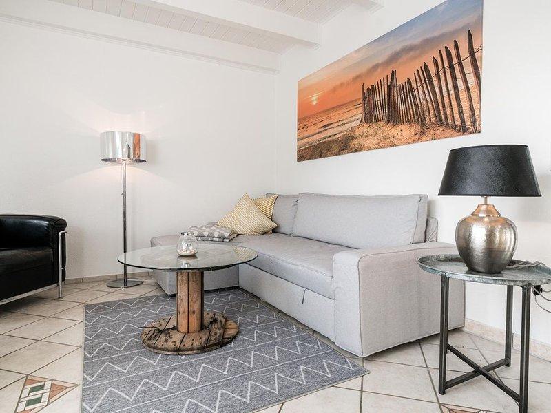 Ein luftig leichtes Raumkonzept auf drei Ebenen, cooles Interieur mit witzigen E, casa vacanza a Sylt