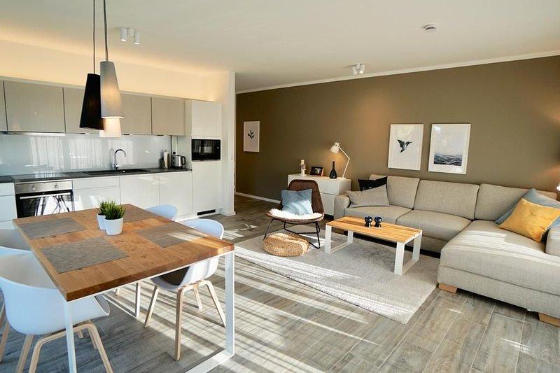 Dieses nordisch-moderne Premium-Apartment 'Nordbudje' für 4 Personen versprüht e, holiday rental in Zetel