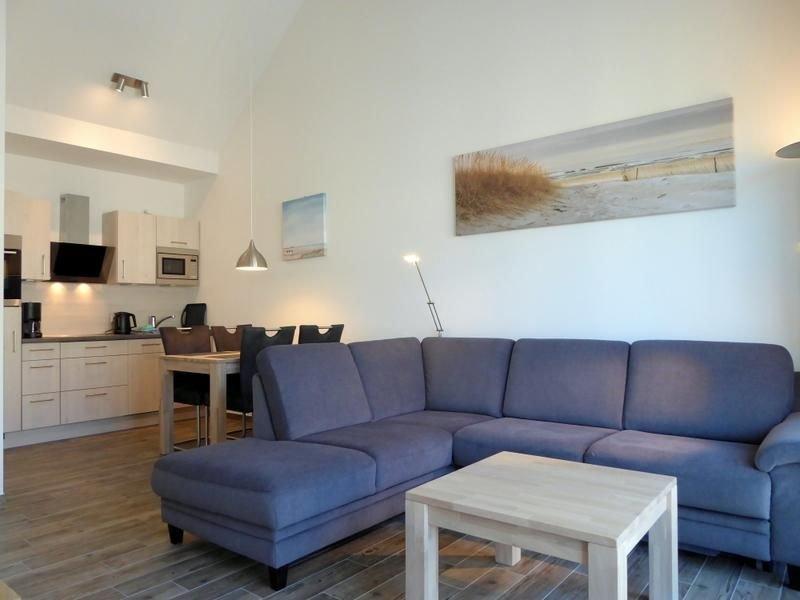 Nordsee Park Dangast - Haus Spiekeroog Penthouse Möwenblick (55 qm), holiday rental in Zetel