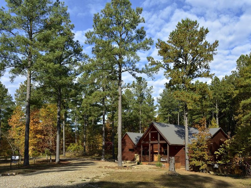 'Wonder's Call', an Inviting  Luxury Cabin in the Hills of Eagle Mountain, casa vacanza a Pickens