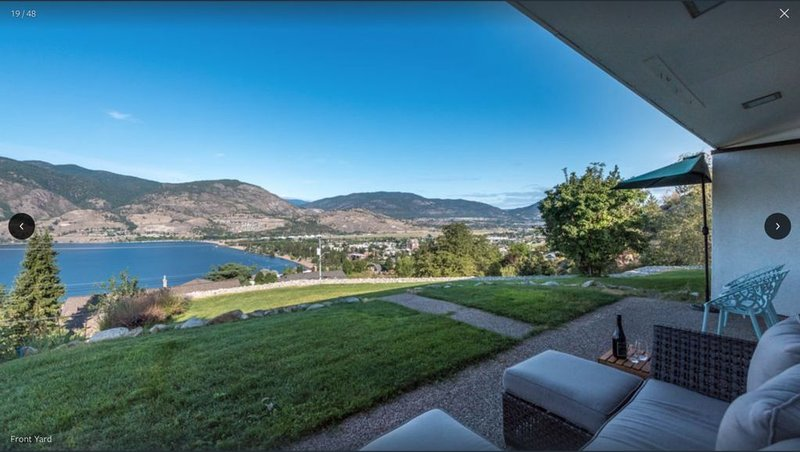 Prime Penticton Location Breathtaking views of Skaha Lake, Beach and City!, holiday rental in Okanagan Falls