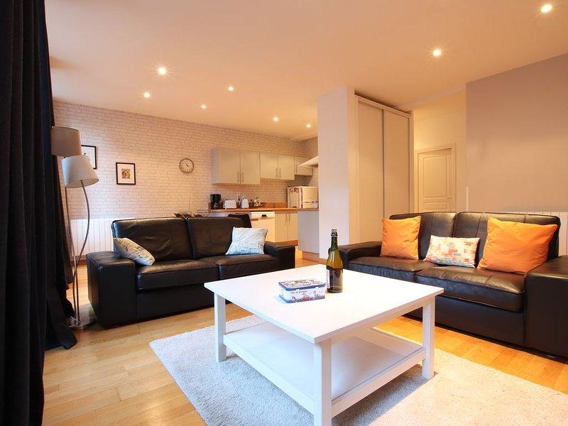 Appartement 75m2, 4*,Centre historique,WIFI et stationnement gratuits, alquiler vacacional en Ille-et-Vilaine