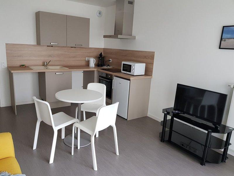 T2 meublé dans immeuble neuf, holiday rental in Jumel