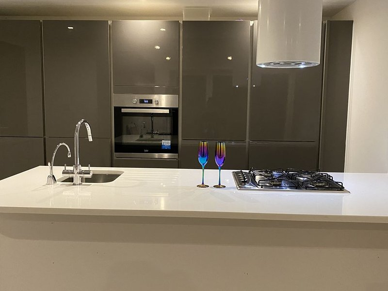 Stunning & Luxury Ground Floor Flat (V), holiday rental in Ewell