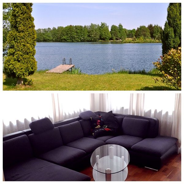 Schöne 2-Zimmer-Ferienwohnung direkt am See, holiday rental in Wunstorf