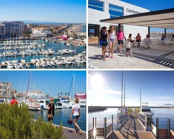 St cyprien.Studio cabine 27m2 terrasse , vue mer et piscine, alquiler de vacaciones en Saint-Cyprien-Plage