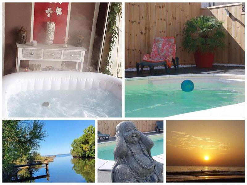 Envie d'un break : 'SWEET HOME' Synonyme de repos, Océan, dunes, forêts, .., vacation rental in Biscarrosse