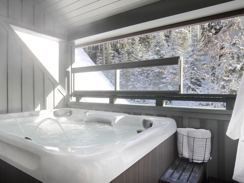 Cozy Mountain View Getaway with Private Hot Tub and Ski In/Out to Blackcomb., vacation rental in Whistler
