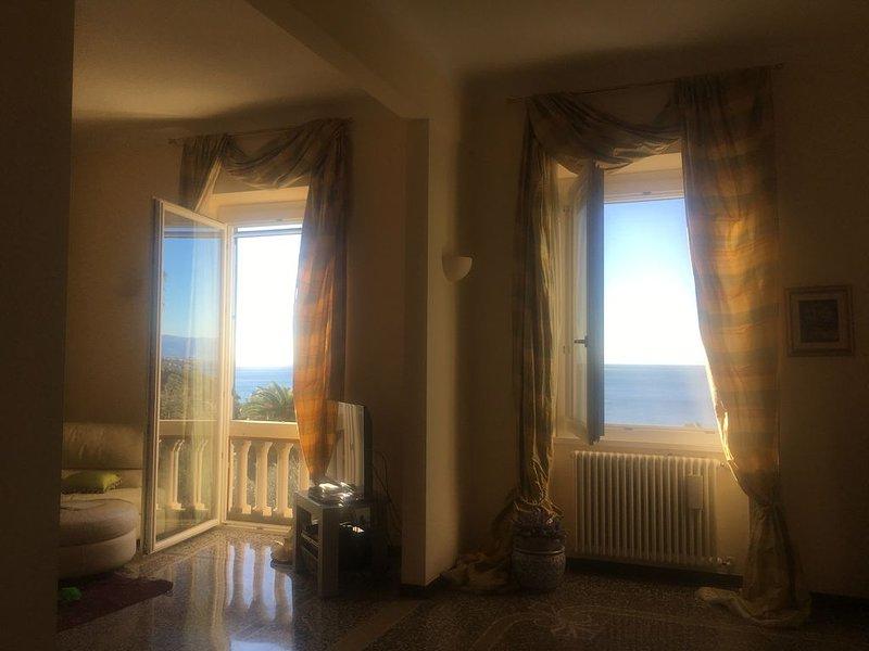 DOVE IL CIELO E IL MARE S'INCONTRANO, vacation rental in Sori