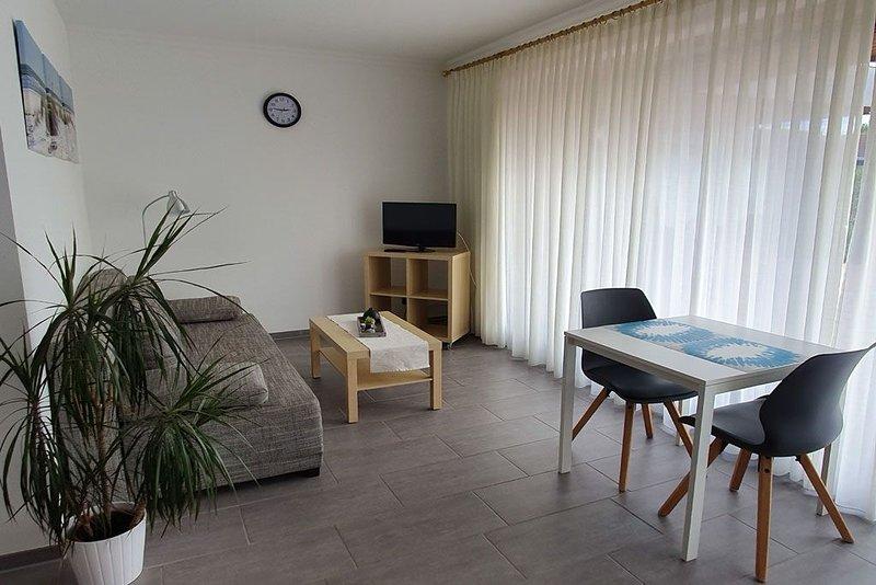 Fewo in Seevetal, familienfreundlich, ruhig, stadtnah,Terrasse, WLAN bis 8 Pers., vacation rental in Hanstedt