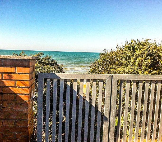 Argentario villetta sul mare, casa vacanza a Orbetello