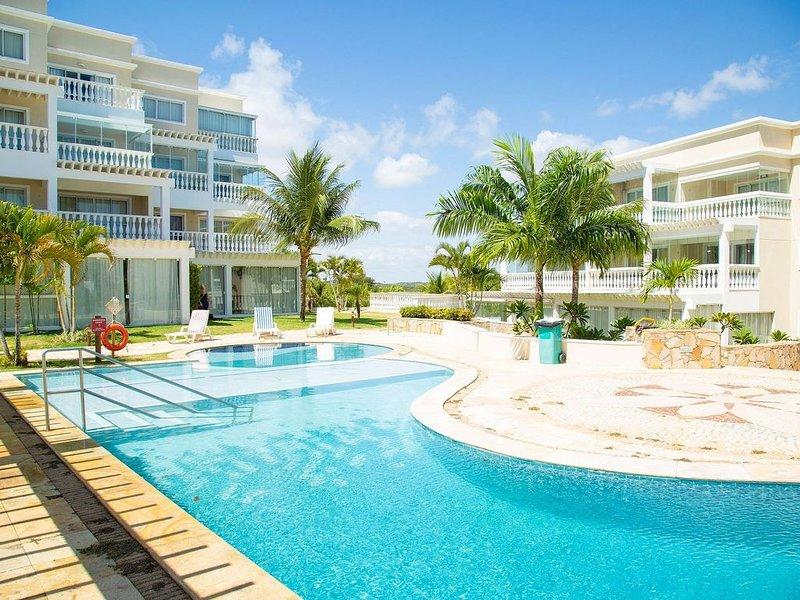Apartamento Completo e equipado no Porto Brasil por Carpediem, alquiler de vacaciones en Nisia Floresta