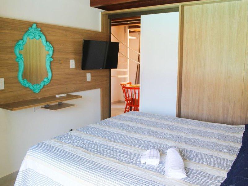 Confortável e aconchegante apartamento no Solar Água Pipa por Carpediem, location de vacances à Tibau do Sul