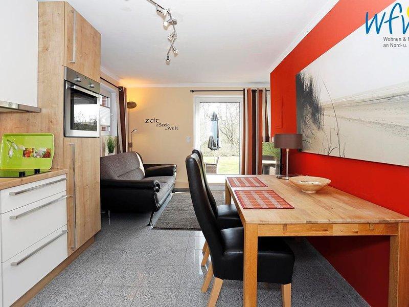 Moderne Ferienwohnung mit Südterrasse - ideal für den Urlaub zu zweit!, location de vacances à Borkum