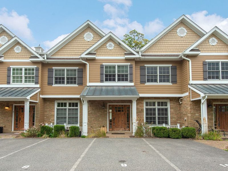 Lakefront Townhouse #09 w/Dock Slip, Hot Tub, & 2 Gas Fireplaces!, vacation rental in Deer Park