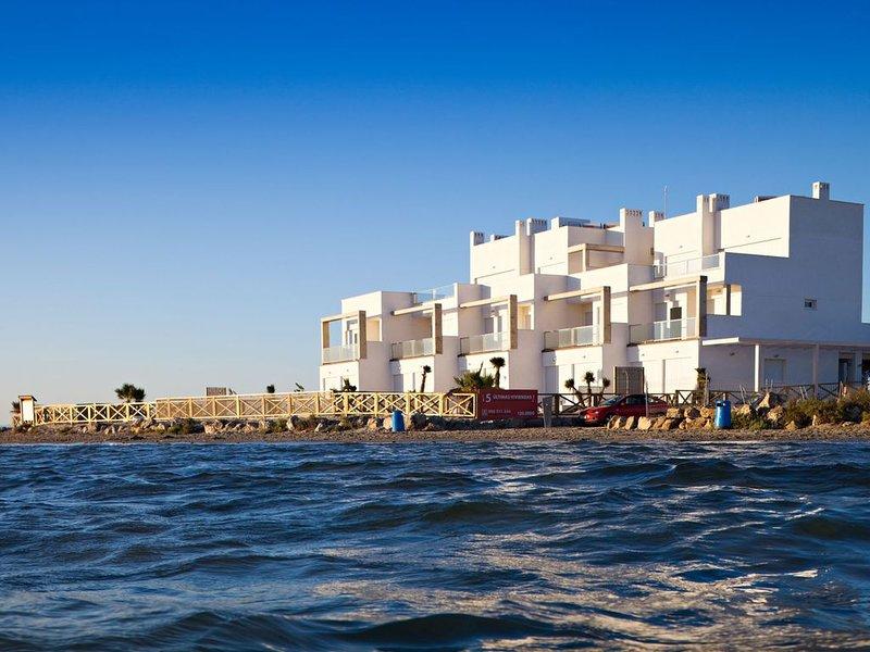 Penthouse sur la plage au soleil toute l'année – semesterbostad i Lo Pagán
