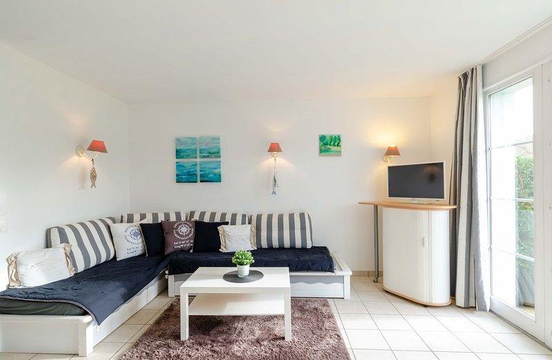 Maison 6 couchages sur la côte vendéenne dans parc de vacances proche plage, aluguéis de temporada em Talmont Saint Hilaire