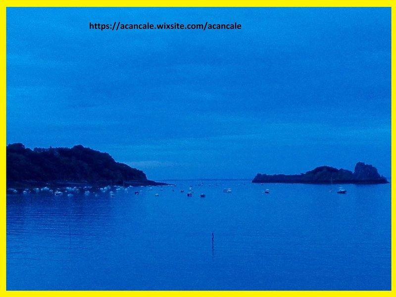 Sans vis-à-vis directement sur la Mer et le Port, proche Mt St Michel, St Malo, holiday rental in Saint-Benoit-des-Ondes