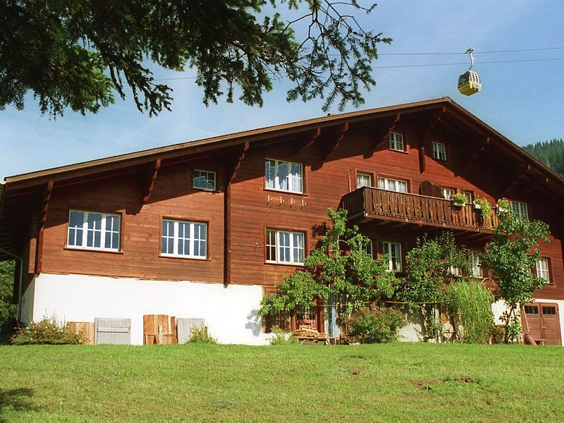 Carefully furnished holiday residence in a typical Berner Oberland house., vacation rental in Innertkirchen