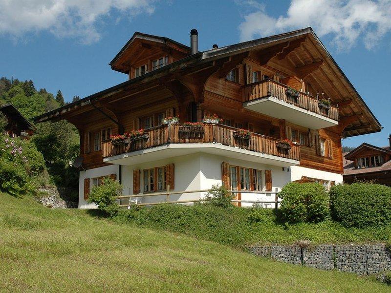 Luxurious Chalet in Habkern  with Private Garden, vakantiewoning in Schangnau