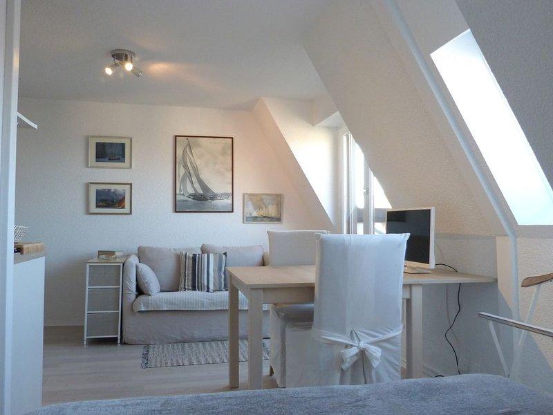 Studio vue mer-résidence Grand Cap, casa vacanza a Bourgeauville