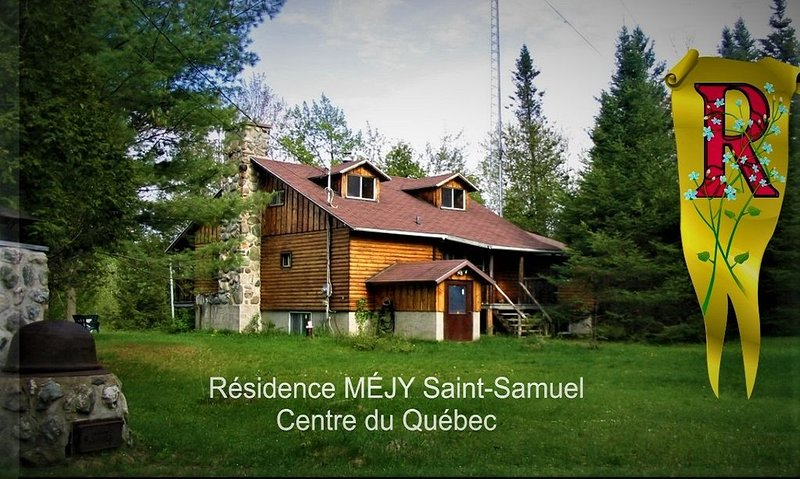 Private estate for rent Centre Québec, holiday rental in Victoriaville