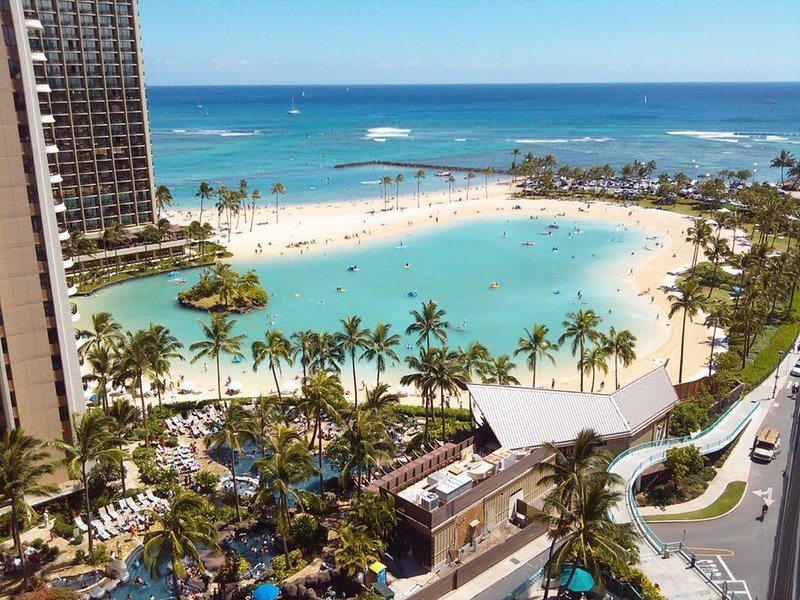 Ilikai Hotel Oceanfront/Ocean View Condo in Beautiful Waikiki - $188, holiday rental in Honolulu