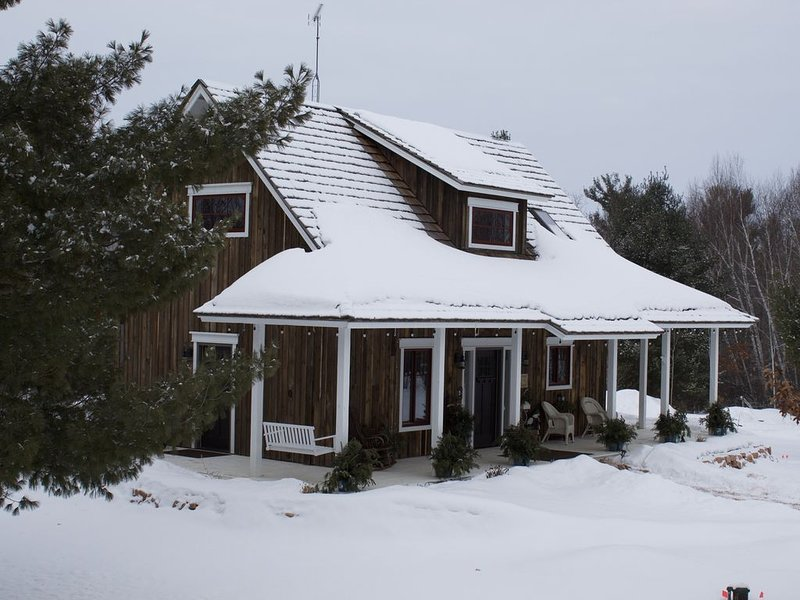 Stonehaven Cottages on Tuscobia Lake LLC., vacation rental in Rice Lake