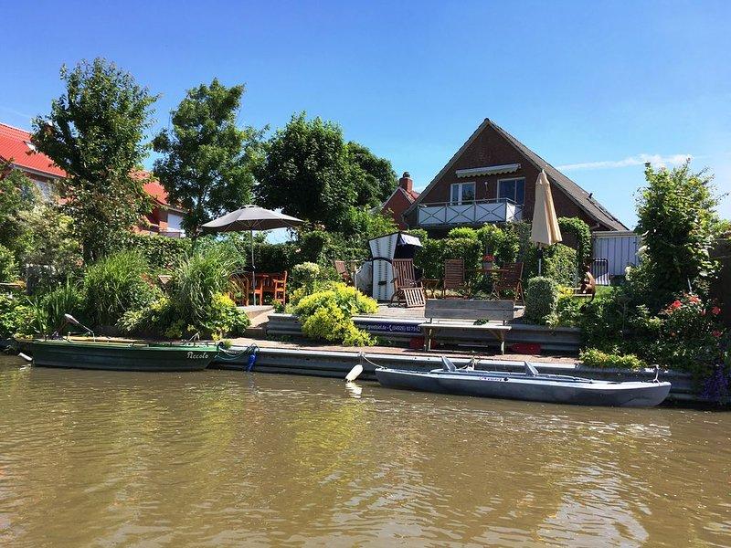 Schöne kuschelige Wohnung in vorzüglicher Lage in Greetsiel, location de vacances à Krummhoern