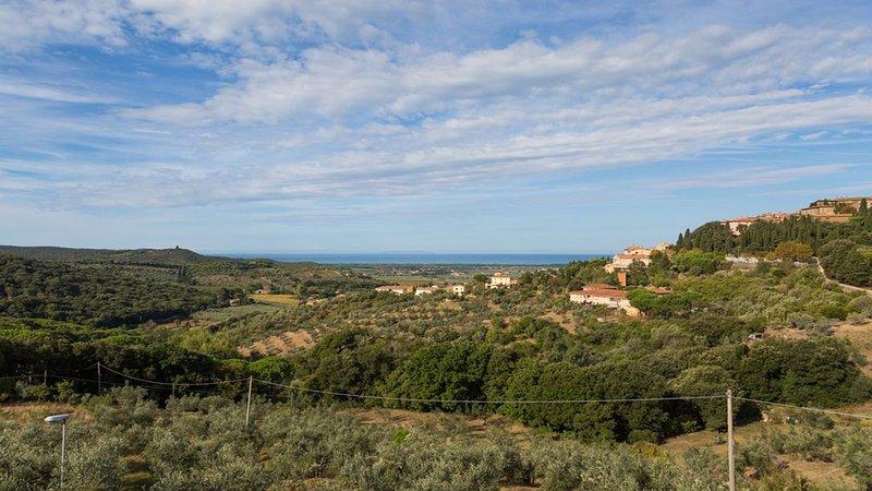 Toscana Collina /Mare Castagneto Carducci, Ferienwohnung in Castagneto Carducci
