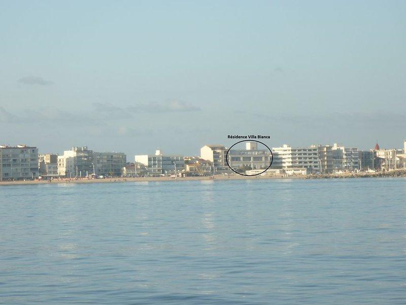 Appartement style loft bon standing (balnéo, clim, accès  internet), location de vacances à Palavas-les-Flots