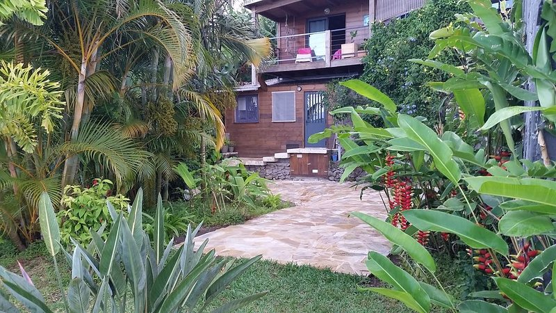 Studio pour escapade à la Réunion, l'île intense, location de vacances à Les Avirons