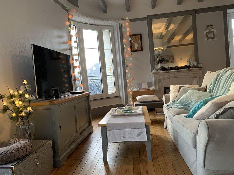 Logement cosy et fonctionnel avec vue imprenable, holiday rental in Le Mont-Dore