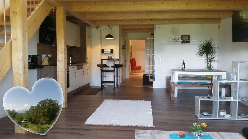 Ferienwohnung ChiemseeZeit mit 90 qm – semesterbostad i Prien am Chiemsee