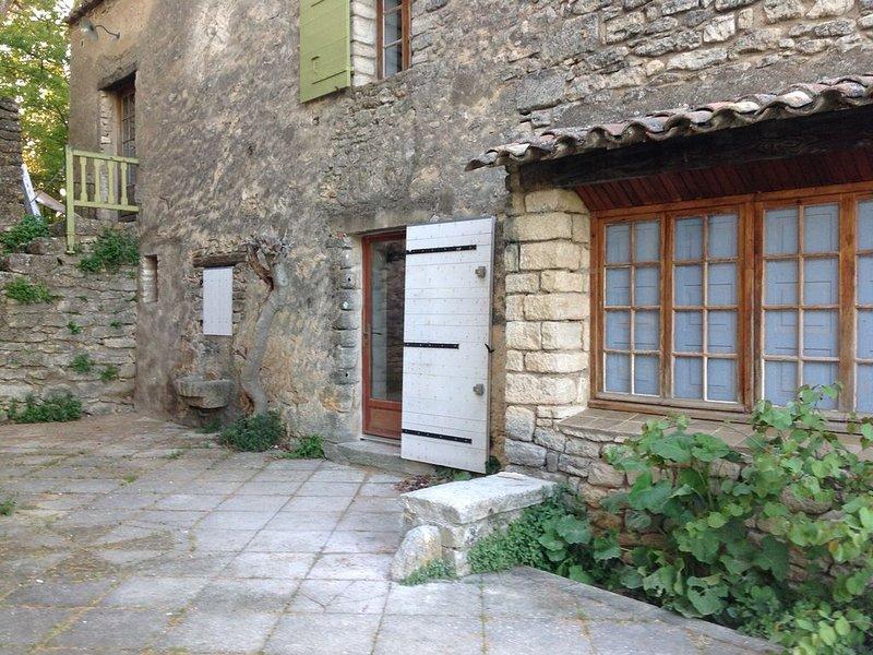 Mas en Luberon surplombant Apt  Idéal pour famille avec jeunes enfants, holiday rental in Buoux
