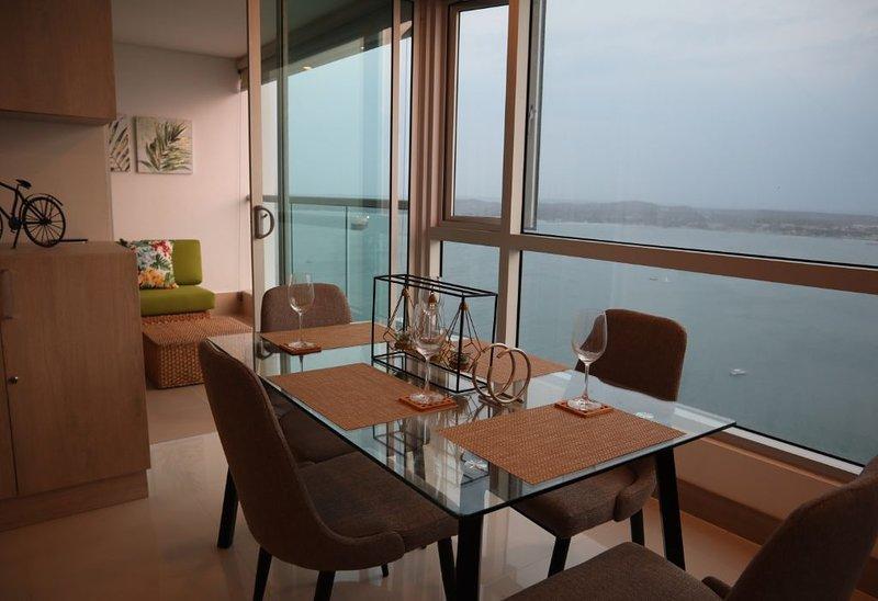 Apartamento Palmetto Sunset 2903, Ferienwohnung in Islas de Rosario