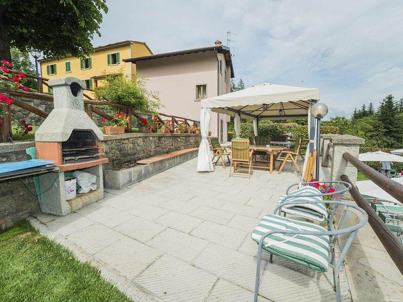 Fewo bei Pistoia, kleiner Weiler, mit Pool, Whirlpool und Sauna, holiday rental in Pontepetri