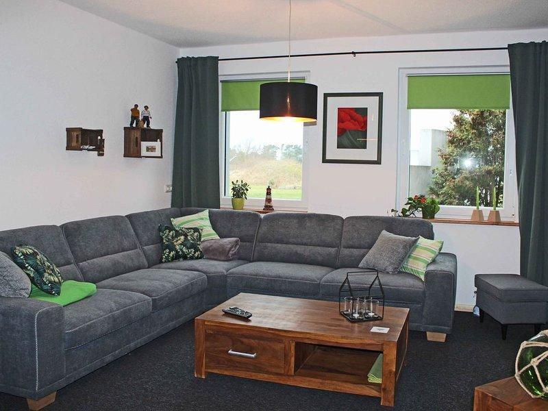 Große Ferienwohnung mit 3 Schlafzimmern, 2 Bädern und Infrarotkabine, casa vacanza a Bresewitz