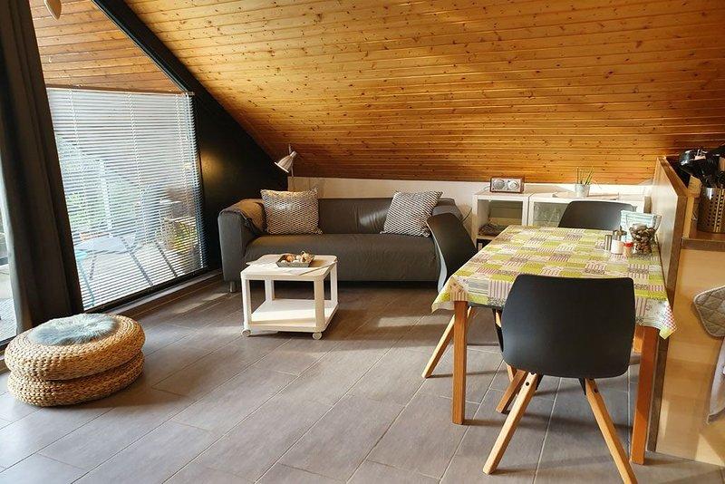 Appartement in Seevetal,stadtnah,familienfreundlich,ruhig,Balkon,WLAN bis 3 Pers, vacation rental in Hanstedt