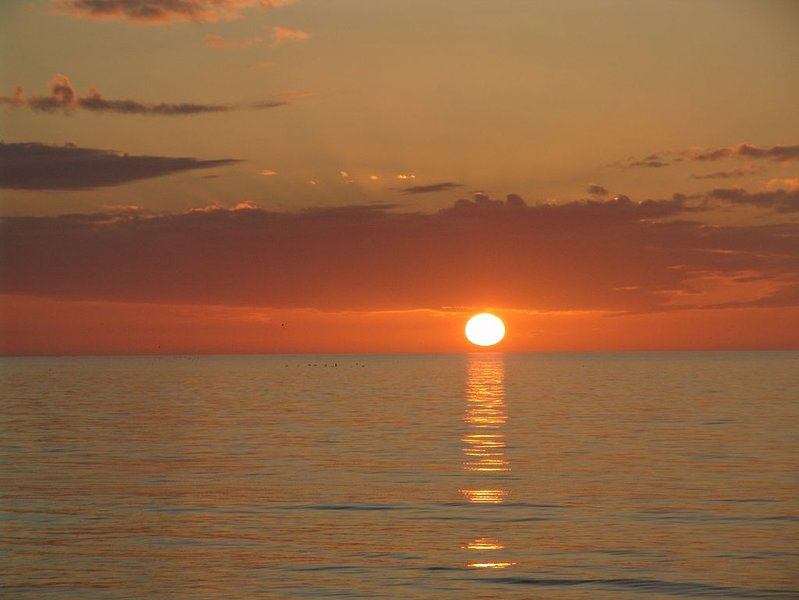 Steps from bluebill beach with stunning sunsets from your balcony., location de vacances à Naples Park